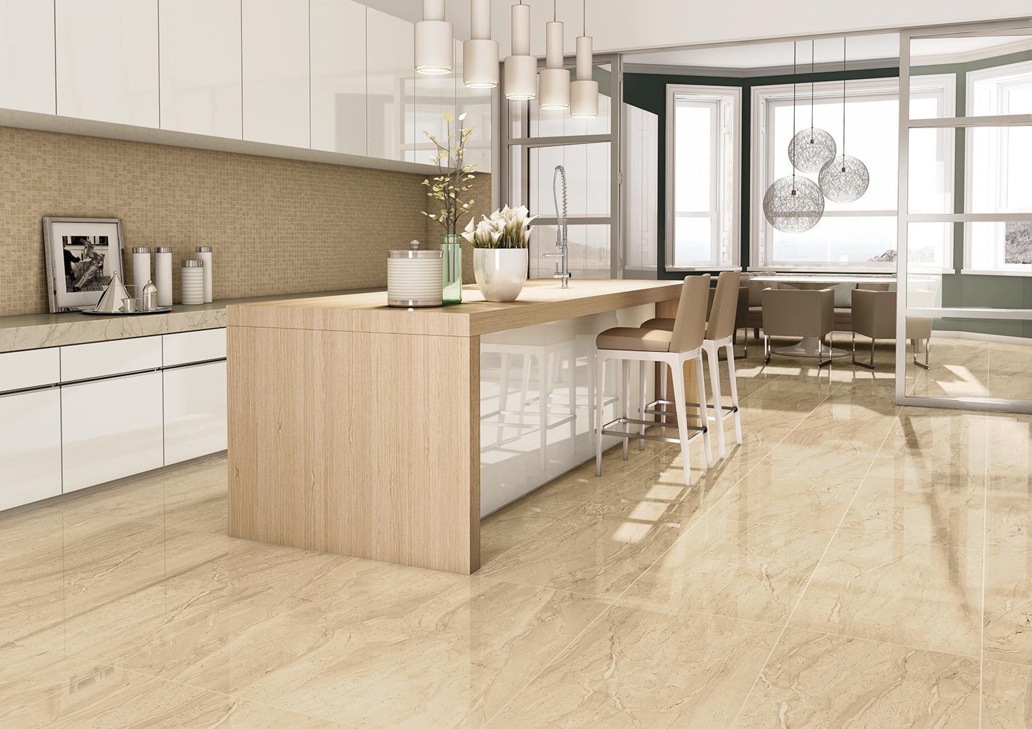 piso ideal para cozinha – Parte 1: Porcelanato LV Par #8B6C40 1488 1052